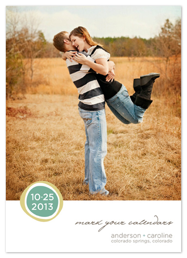 save the date cards - Simple Pleasures by Rosemarie Levy