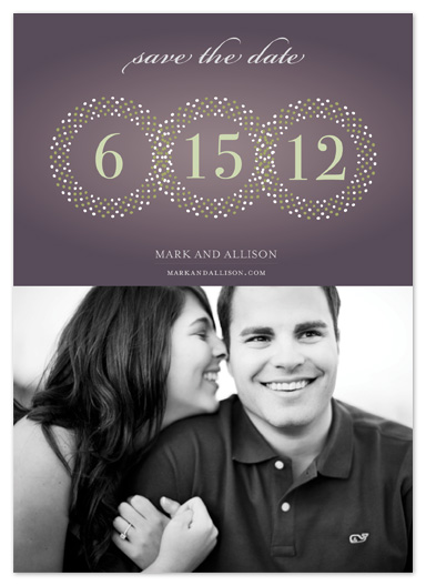 save the date cards - Full Circle by Sharon Kay Creative