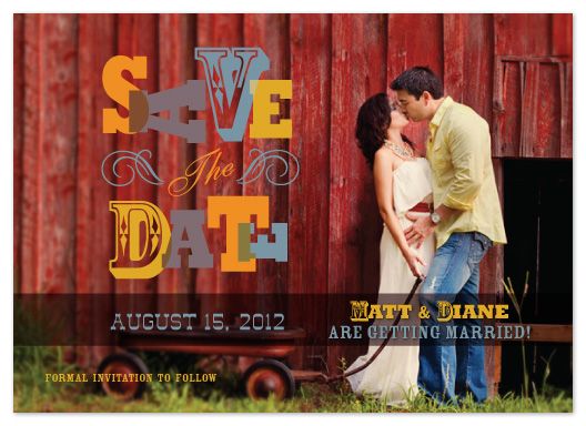 save the date cards - Save the Date_Fun Western by Jacqueline Rivera