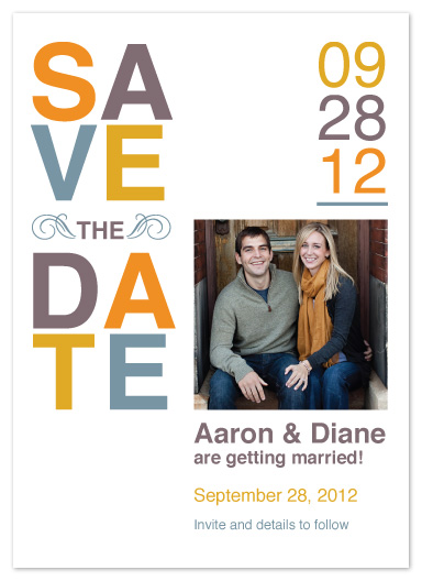 save the date cards - SAVE The DATE_Fall by Jacqueline Rivera