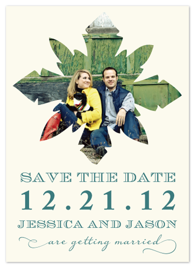 save the date cards - Winter Wonderland by Stella Bella Invites
