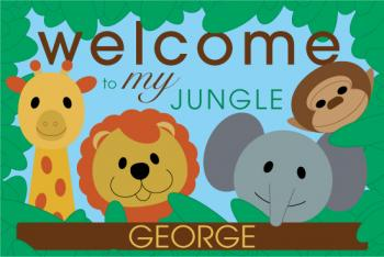 Welcome to My Jungle Personalized