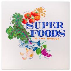 super foods - print