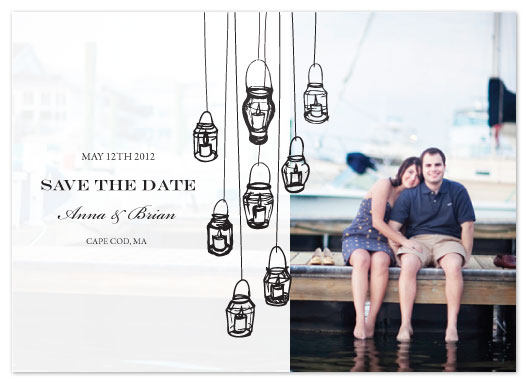 save the date cards - Light of my Life by Jules and Ink