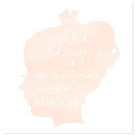 art prints - Sleep My Darling by Chips and Salsa Design Studio