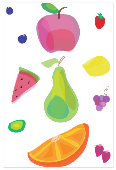 art prints - Tooty Fruity by a la amore