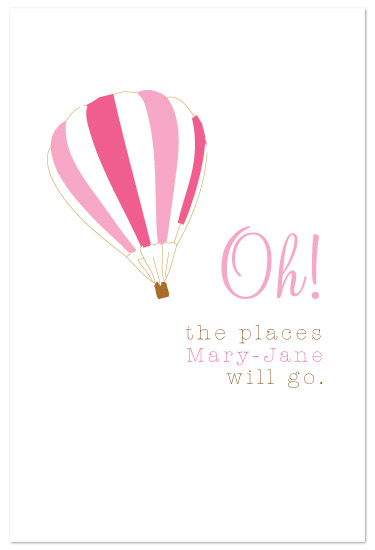 art prints - Oh! The places she'll go by paper ink.