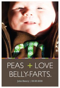 Peas Love + Belly-farts