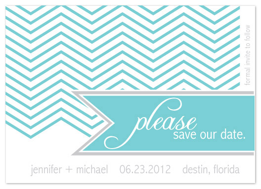 save the date cards - Mind your manners by paper ink.