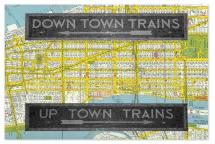 Uptown Downtown Subway... by Christopher Degiso