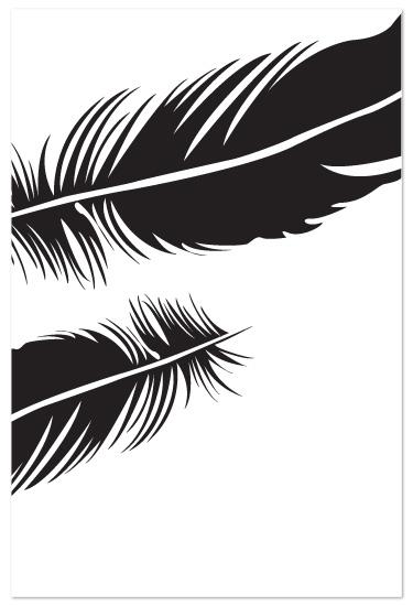 art prints - Feather II by Sarah Dohm