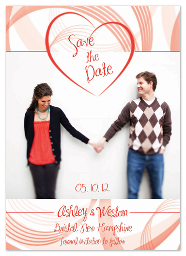 save the date cards - I Heart You by Katie Escobar