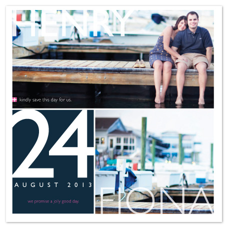save the date cards - Cape Cod Clambake by That Girl Studio