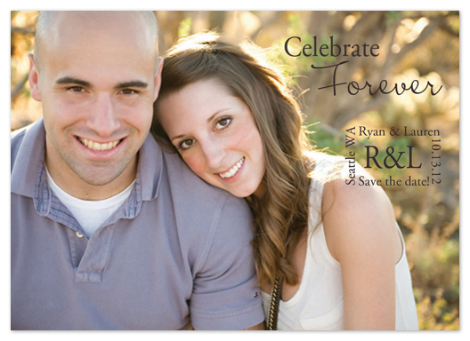 save the date cards - Celebrate Forever by Katie Escobar