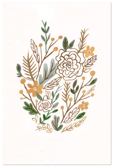 art prints - Muted Bouquet by Moglea