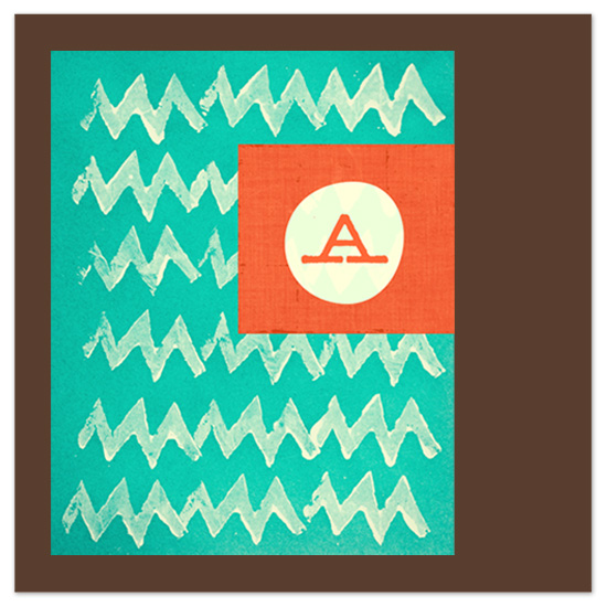 art prints - charlie brown chevron by Stacy Kron