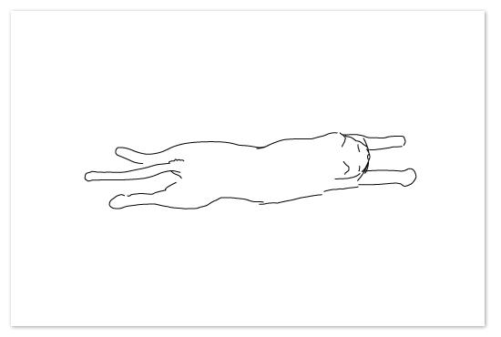 art prints - Sleepy Kitty by Tyler Tea