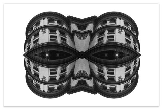 art prints - Architectural Mask by Filbert Hansel