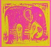 Pink Elephant by Karob