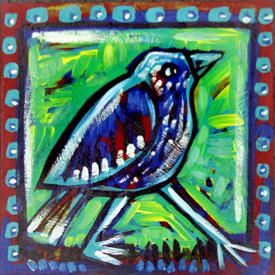 art prints - A Little Bird by Karob