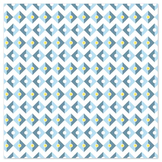 art prints - Modern Diamond Pattern by Pace Creative Design Studio