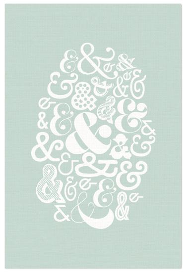 art prints - Eclectic Ampersand by Lauren Chism