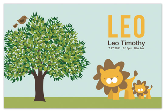 art prints - Leo the Lion by Lindsay Grace