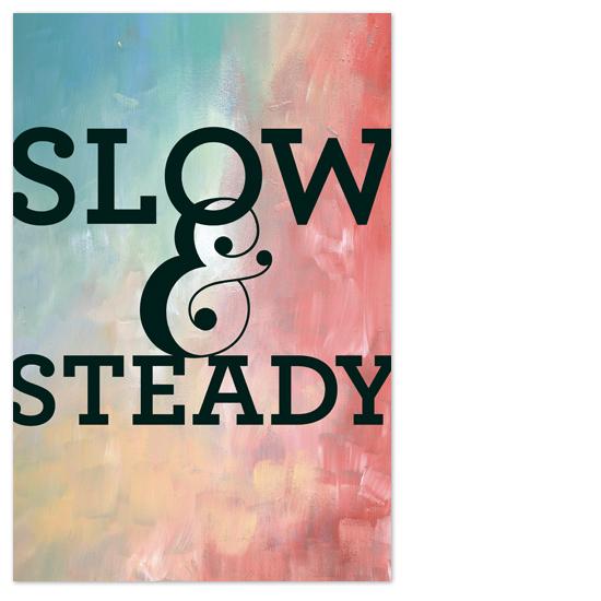 art prints - Slow & Steady by Susie Allen