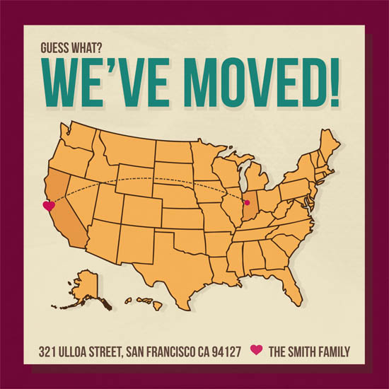 moving announcements - Moving Map  by Katie Verhulst