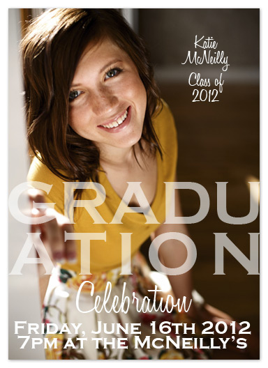 graduation announcements - Celebration by My Sweetie Pie