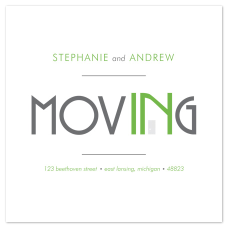moving announcements - movINg  by Lauren Elisabeth