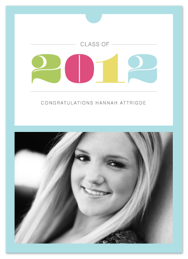 graduation announcements - Pompadour by Stacey Meacham