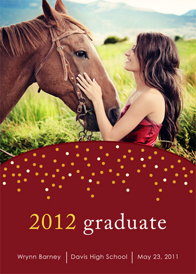 graduation announcements - Whimsical Graduate by Makell Wintle
