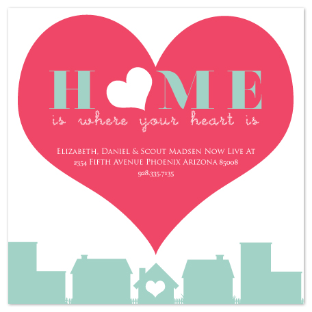 moving announcements - heart of your home by Aleesha Cuffe