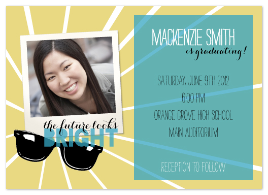graduation announcements - Bright Future by Heather Myers