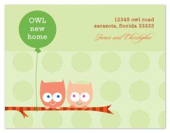 Owl New Home