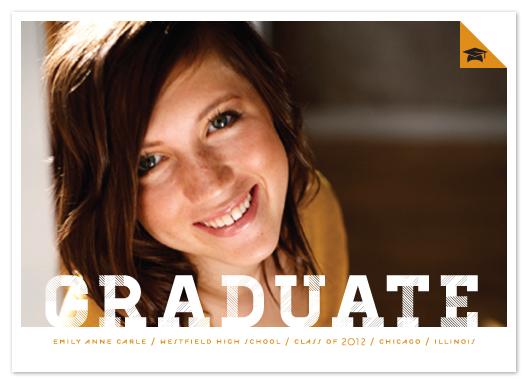 graduation announcements - Patterned Graduate by Lehan Veenker