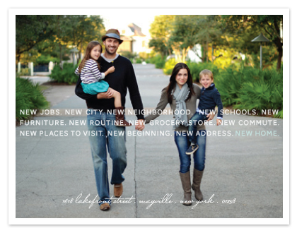 moving announcements - All is New Again by Sandra Picco Design