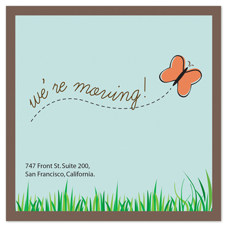 moving announcements - Butterfly Trail by Jose Garcia