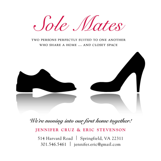 moving announcements - Sole Mates by berberlita