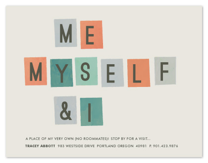 moving announcements - me, myself and i by Sara Hicks Malone