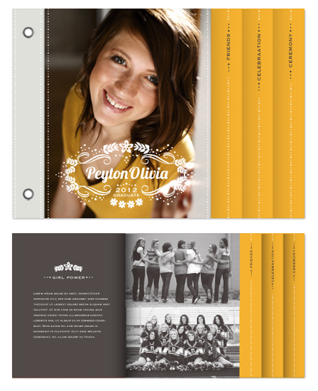 graduation announcements - Reflections by Griffinbell Paper Co.