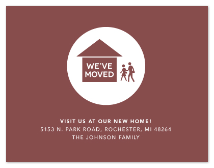 moving announcements - Modern Movers by Card and Cove