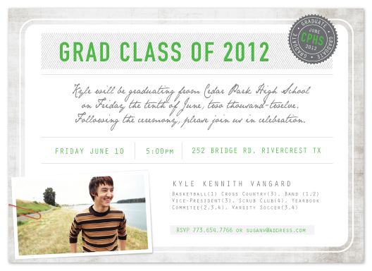 graduation announcements - Diploma by trbdesign