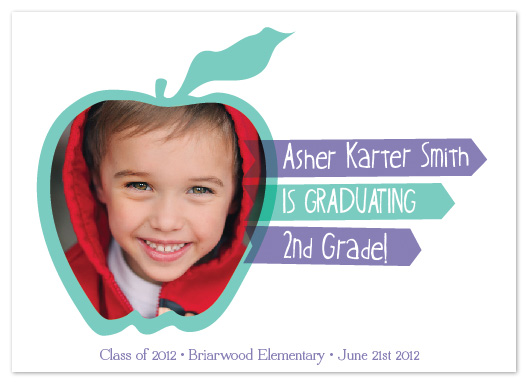 graduation announcements - Blended Apple Child Graduation by Justine Grey