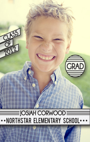 graduation announcements - BigBoy by Jordan Hart