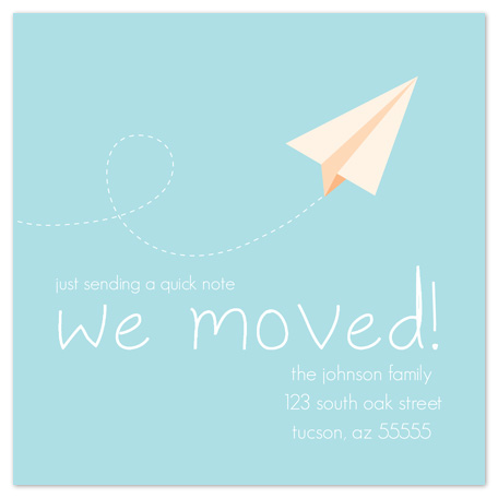 moving announcements - Note in the Air by LindyLou Design