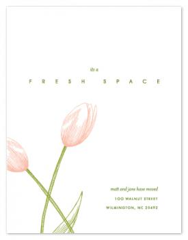 French Tulip and Fresh Space