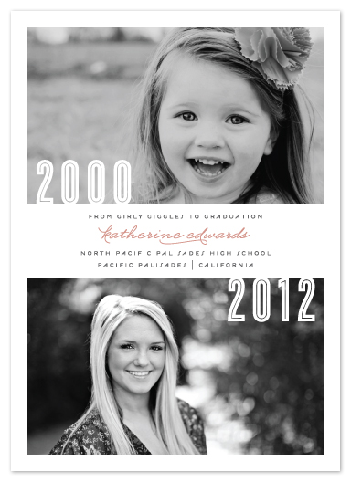 graduation announcements - Now And Then by Lehan Veenker
