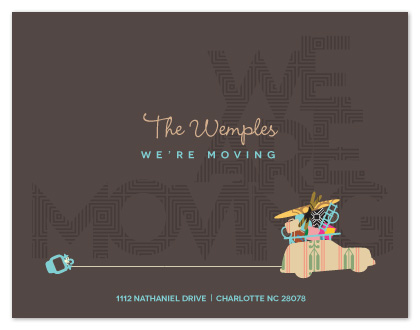 moving announcements - Everything AND the Kitchen Sink by Lori Wemple